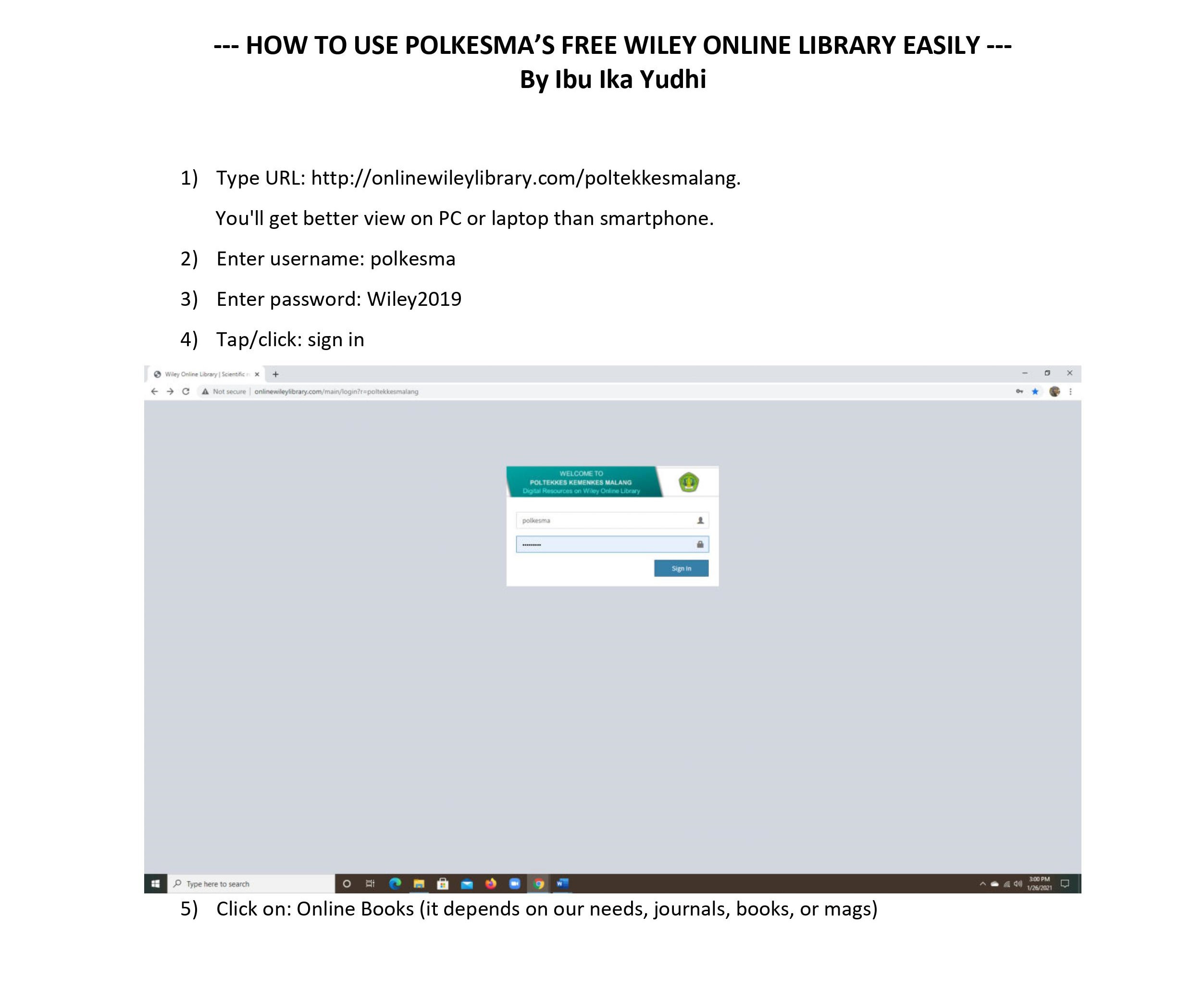 HOW TO USE POLKESMA FREE WILEY ONLINE LIBRARY EASILY